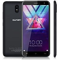 "CUBOT HAFURY Umax - Smartphone Libre de 6.0"" ( 4500mAh batería, 2GB Ram + 16GB ROM, Quad core, Dual SIM, Android 7.0, Cámara 13Mp, 1.3 GHz,3G), color negro[ CUBOT OFICIAL ]"