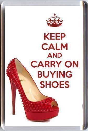 keep-calm-and-carry-on-buying-shoes-fridge-magnet-printed-on-an-image-of-a-red-christian-louboutin-s