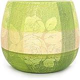 @Home Ceramic Wall Planter (7.5 Cm X 14 Cm X 12 Cm, Green)