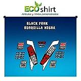 Ecoshirt NC-SE37-SYIW Stickers Fork Rock Shox Xc32 2017 Am122 Autocollants pour...