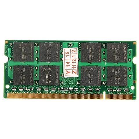 PhilMat 1gb DDR2-533 PC2-4200 non-RAM ECC 200pins de mémoire pour ordinateur portable