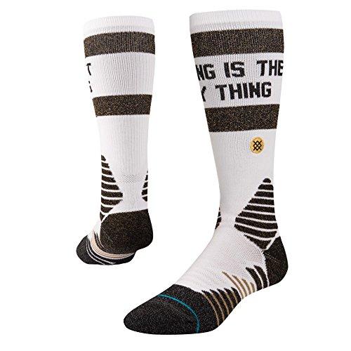 Stance Dynasty Basketball Socks - White Large - Dynasty Spas