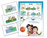 Yo-Yee Flashcards Signalkarten mit passendem Bingospiel für den Deutschunterricht - Zoo und Zootiere - Zur Sprachförderung in Kita, Kindergarten, Schulen und Logopädie