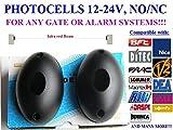 Universal infrarot IR Lichtschranke 12-24V AC/DC, NO/NC. Safety beam. PHOTOCELLS, Infrared safety beam for gate automation or Security alarm. Universal Photocells for FAAC, CARDIN, Liftmaster, Chamberlain, Terdsen , Berner, DITEC, ELCA,DOORHAN, DASPI, RIB, NICE, MOTORLIFT, V2, Vidue, MHouse, CAME , BFT, MARANTEC