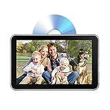 DVD-Player für die Kopfstütze, 26 cm (10,1 Zoll) DVD-Player für Rücksitz-Unterhaltung, 1080P HD Touchscreen, automatische Aufladung mit Saugnapf, unterstützt CD/DVD/USB/TF/MP4