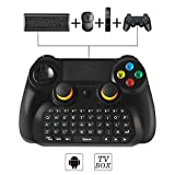 BEBONCOOL Manette de jeu Bluetooth Android sans fil pour Smartphone Android/ Tablette/ TV Box/ Gear VR/ Emulateur(bleu)