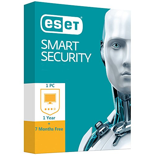 ESET Smart Security Multilanguage | 1 PC | 1 año + 8 meses gratis - gennaio  2020 | ** digital license sent by Amazon email  * Check periodically your