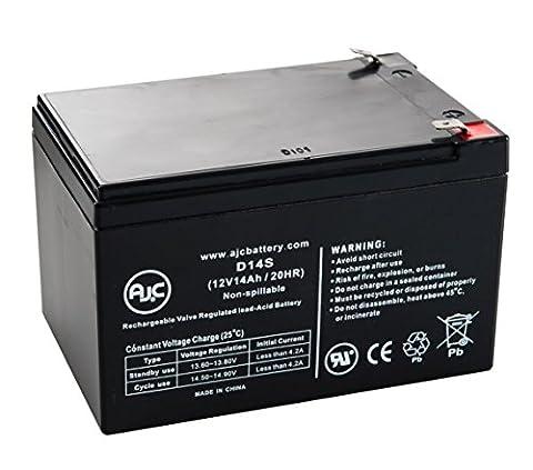 Batterie Leoch DJW12-14 T2 12V 14Ah Scooter - Ce produit est un article de remplacement de la marque AJC®
