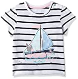 #5: Mothercare Baby Girls' T-Shirt (52052373004_12-18 Months_White)
