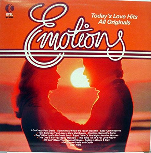 Emotions - Today's Love Hits, All Originals (Ktel Records)