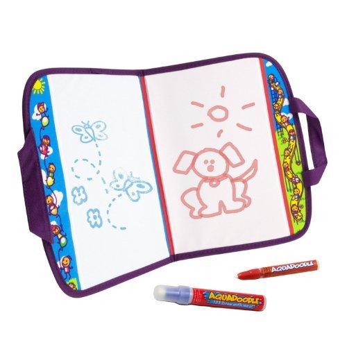 Kids Travel Doodle Set with Aquadoodle Pen, Bonus Pen with Cap
