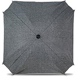Parasol de poussette universelle avec bras orientable, parasol avec protection UV, diamètre 68cm,