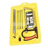 Generic JUNIOR HACKSAW 6' HEAVY DUTY METAL FRAME Mini Hack Saw Cutting Blades Tool