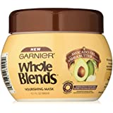 Garnier Whole Blends Hair Mask With Avocado Oil Shea Butter Extracts 10.1 FL OZ