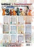 Tatzino Kalender 2019 Familien Kinder Planer Terminkalender 3 Spalten Humor 30x42cm