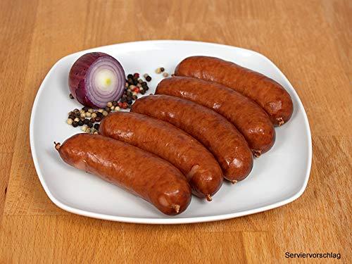 Kohlwurst/Bregenwurst geräuchert 3 Packungen 5x50g - Mettwurst für den deftigen Eintopf - Original...