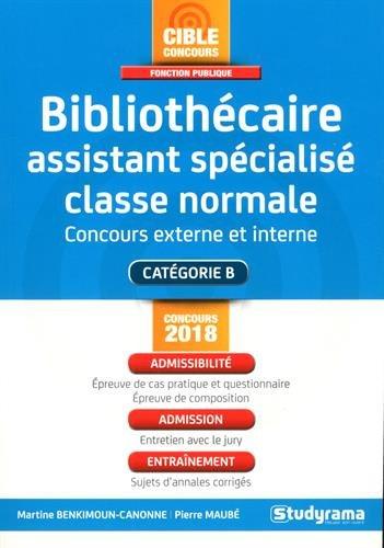 Bibliothécaire assistant spécialisé c...