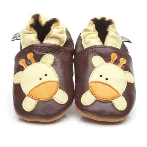 suaves-zapatos-de-cuero-del-bebe-jirafa-6-12-meses