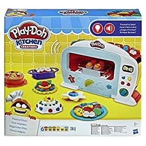 Play-Doh magiche creazioni, forno da cucina con luci e suoni.