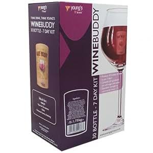 Home Brew & Wine Making - Winebuddy 30 Bottle Red Wine Refill - Cabernet Sauvignon Ingredient Kit