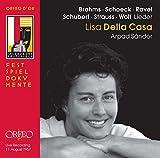 Lieder De Brahms, Rravel, Schoeck, Schubert, Strauss & Wolf