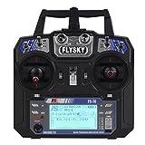 FS-i6 Flysky AFHDS 2.4GHz 6CH Radio Transmitter & FS-iA6 Empfaenger fuer RC