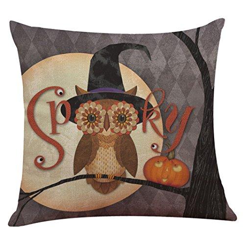 Vovotrade Lustige und kreative Kissenbezug für Halloween Dekoration (C)