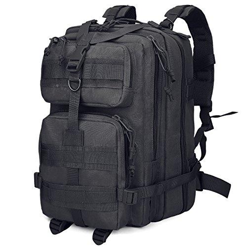 G4Free Mochila táctica resistente al agua, 40 L, militar, para senderismo, al aire libre, camping, caza, viajes