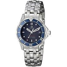 Omega Seamaster Diver - Reloj (Reloj de Pulsera, Masculino, Acero, Azul,