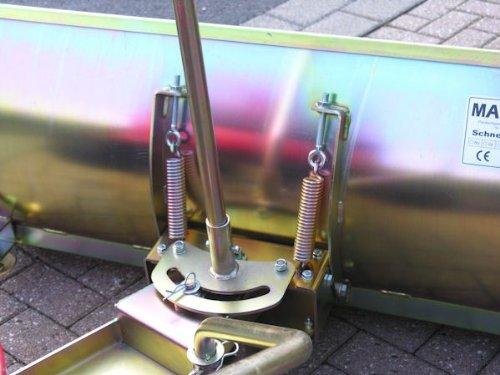 Castelgarden Twincut XT180HD verzinktes Komfort-Schneeschild 118x50 cm für Rasentraktore ID 2197