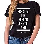 Sambosa Prince Damen T-Shirt Frankfurt Pokalsieger 2018 Ante, Farbe:Schwarz;Größe:M