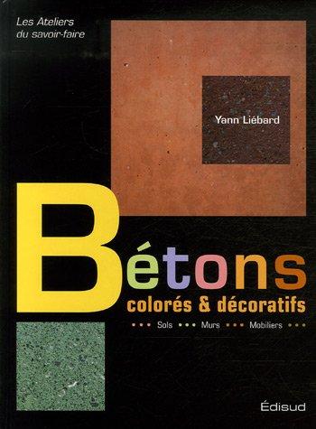 Bétons colorés et décoratifs