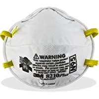 3M 8210PLUS N95 Particulate Respirator - StandardFoam - 20/ Box - White