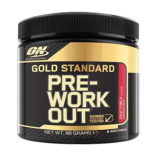 Optimum Nutrition Gold Standard Pre-Workout, Ponche de Frutas - 88 gr