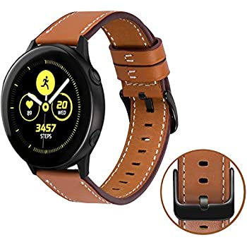 SPGuard Compatible Samsung Galaxy Watch Active 40mm Bracelet,Galaxy Watch Active Cuir Bracelet