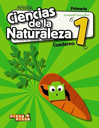 Ciencias de la Naturaleza 1. Cuaderno. Cuadrícula. (Pieza a Pieza)
