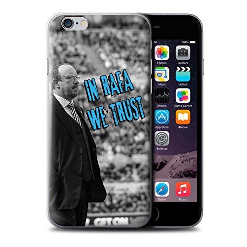 Offiziell Newcastle United FC Hülle / Case für Apple iPhone 6S / Pack 8pcs Muster / NUFC Rafa Benítez Kollektion Wir Vertrauen