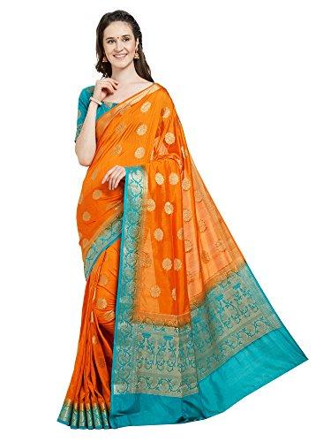 Viva N Diva Saree For Women's Banarasi Art S...