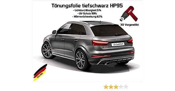 3D-vorgewölbt Tönungsfolie passgenau tiefschwarz 5/% Opel Astra H GTC 3-Türer