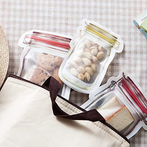 TEQKHZDFJ Home Storage Küche Frische, Selbstklebende Tasche Wiederverwendbare Silikon-Lebensmittel-Gefrierschrank Lagerung Vielseitiger Container Küche Lagerung (Lebensmittel-lagerung-container Gefrierschrank)