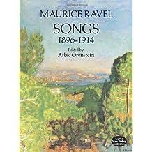 Songs 1896-1914 (Ed. Orenstein): Noten für Gesang, Klavier (Dover Song Collections)