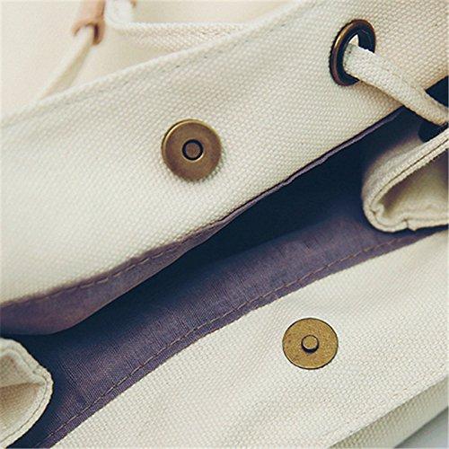 frauen umhängetasche student 's tasche einfarbig reisetasche trends. weiße