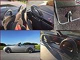 Deflector aire Deflectores de viento Mercedes Benz SLK R170 170 tintada WIND BLOCKER NUEVO