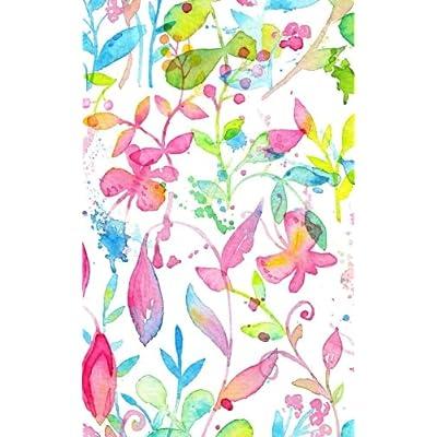 Carnet de Mots de Passe: A5 - 98 Pages - 176 - Watercolor - Fleurs