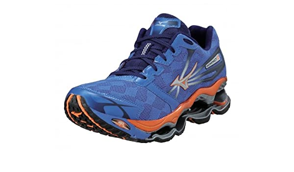 sneakers for cheap 5efd9 9553d MIZUNO Wave Prophecy 2 Ladies Running Shoes, Blue, UK4  Amazon.co.uk  Shoes    Bags