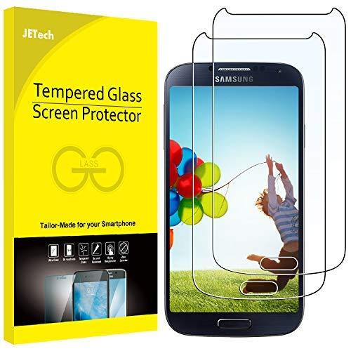 JETech 0820 Film de Protection d'écran pour Samsung Galaxy S4 en Verre Trempé