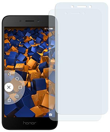 mumbi Schutzfolie kompatibel mit Huawei Honor 6A Folie klar, Bildschirmschutzfolie (2x)