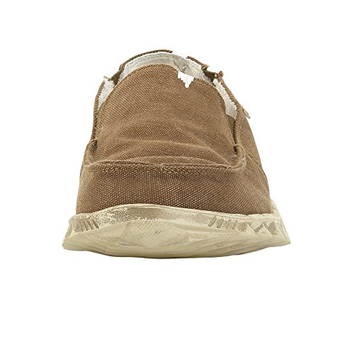 Hey Dude Farty Chalet Blu Canvas Brown