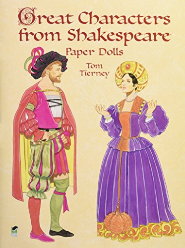 Great Characters from Shakespeare Paper Dolls (Dover Paper Dolls)