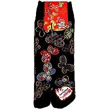 73a560bf590 Japonmania - Chaussettes japonaises Tabi - Du 35 au 39 - Papillons